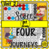 Journeys FIRST Grade SCORE Four:  Unit TWO