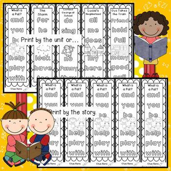 Journeys FIRST Grade  Sight Word Bracelets/Bookmarks: The BUNDLE