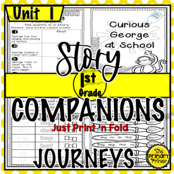 Journeys FIRST Grade Story Companions:  Unit ONE