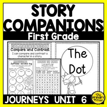 Journeys FIRST Grade Story Companions:  Unit SIX