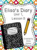 Fifth Grade: Elisa's Diary (Journeys Supplement)
