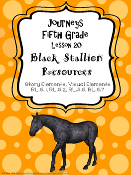 Journeys Black Stallion Resources, Fifth Grade