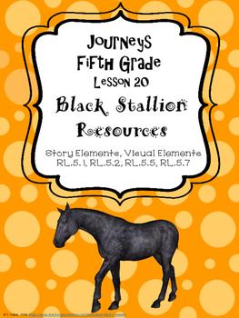 Journeys Black Stallion Resources, Fifth Grade