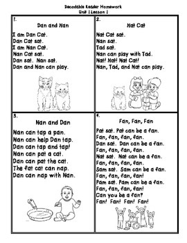 Journeys First Grade (2011) Decodable Readers Unit 1