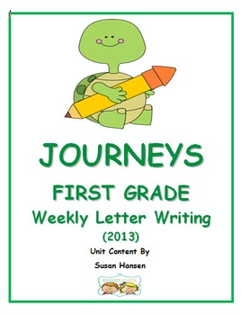 Journeys First Grade Reading 2013 Letter Writing Unit