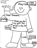 Journeys First Grade: A Musical Day: Unit 2/Lesson 8  Thank You Note/Time words