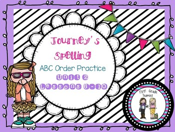 Journeys First Grade ABC Order Unit 2