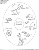 Journeys First Grade: Amazing Animals/Unit 5-Lesson 22/Graphic Organizers