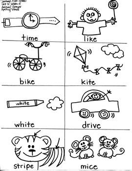 Journeys First Grade: Animal Groups: Unit 3/Lesson 15-short/long i sort