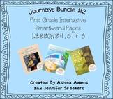 Journeys (2011-2012 edition)First Grade BUNDLE #2 (Smartboard Lessons 4,5,6)