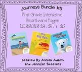 Journeys (2011-2012) First Grade BUNDLE #5 (Smartboard Lesson 13,14,15)