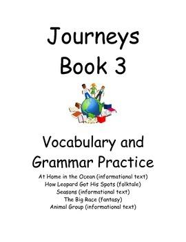 Journeys First Grade Book 3