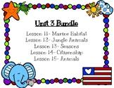 Journeys First Grade Centers Unit 3 Bundle