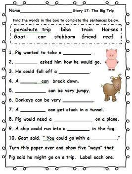 Journeys First Grade Comprehension Activities 2014 Edition