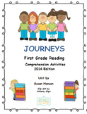 Journeys First Grade Comprehension Activities 2014 Edition