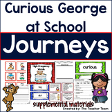 Curious George at School Journeys 1st Grade Unit 1 Lesson 3 Activities