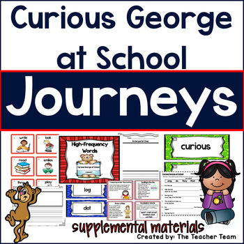 Curious George at School Journeys First Grade Supplemental