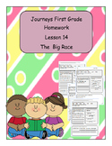 Journeys First Grade Homework
