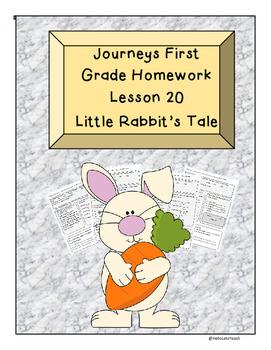 Journeys First Grade Homework Lesson 20 Little Rabbit's Tale