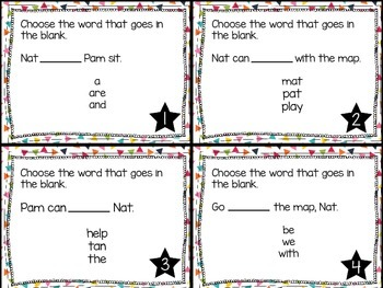 Journey's First Grade Lesson 1 What is a Pal? Phonics and Vocabulary Task Cards