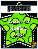 Journeys First Grade Lesson 10 Spelling