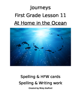 Journeys First Grade Lesson 11