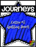 Journeys First Grade Lesson 12 Spelling