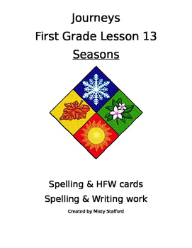 Journeys First Grade Lesson 13