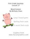 Journeys First Grade Lesson 17 Word Centers