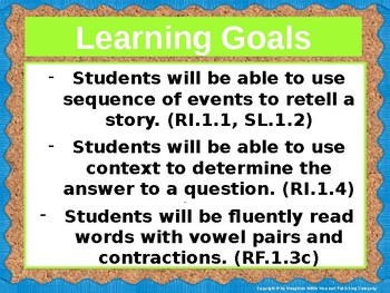 Journeys First Grade Lesson 19 Focus Wall (Editable)