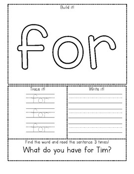 Journeys First Grade Lesson 2 Sight Word Fluency Practice