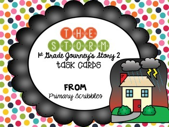 Journey's First Grade Lesson 2 The Storm Phonics and Vocab