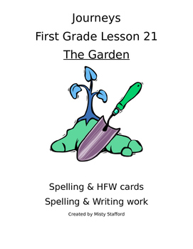Journeys First Grade Lesson 21