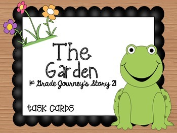 Journey's First Grade Lesson 21 The Garden Phonics and Voc