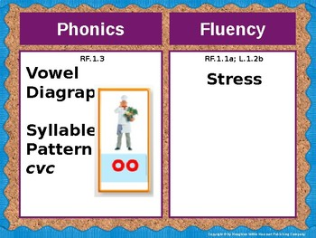 Journeys First Grade Lesson 23 Focus Wall (Editable)