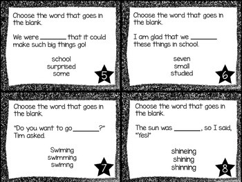 Journey's First Grade Lesson 26 The Dot Phonics and Vocabulary Task Cards