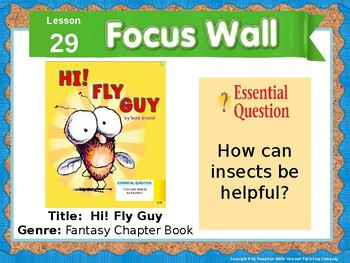 Journeys First Grade Lesson 29 Focus Wall (Editable)