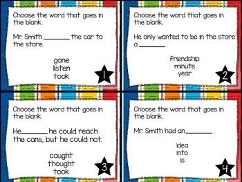Journey's First Grade Lesson 29 Hi! Fly Guy Phonics and Vocabulary