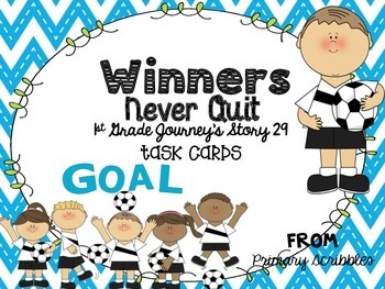 Journey's First Grade Lesson 30 Winners Never Quit Phonics