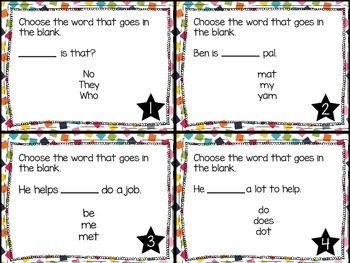 Journey's First Grade Lesson 4 Lucia's Neighborhood Phonics and Vocab Task Cards