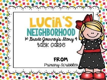 Journey's First Grade Lesson 4 Lucia's Neighborhood Phonic