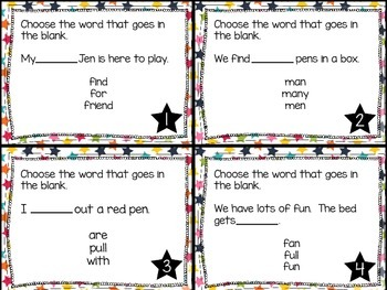 Journey's First Grade Lesson 5 Gus Takes the Train Phonics and Vocb Task Cards