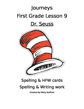 Journeys First Grade Lesson 9