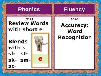 Journeys First Grade Lesson 9 Focus Wall (Editable)