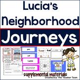 Lucia's Neighborhood Journeys 1st Grade Unit 1 Lesson 4 Activities & Printables