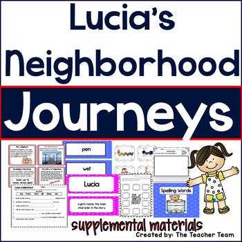 Lucia's Neighborhood Journeys First Grade Supplemental Materials