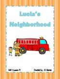 Journeys First Grade Lucia's Neighborhood Unit 1 Lesson 4