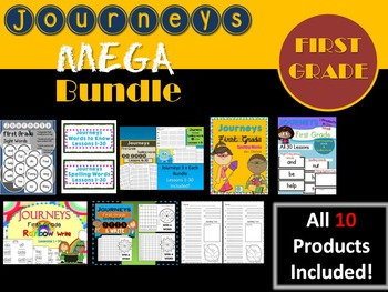 Journeys First Grade MEGA BUNDLE! 10 Products!