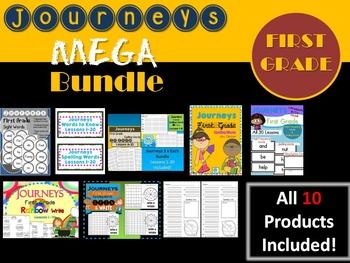 Journeys First Grade MEGA BUNDLE! 10 Products!