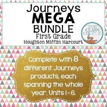 Journeys First Grade MEGA Bundle